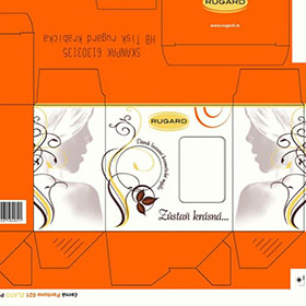 Krabičky - Krabička Rugard Natur produkt