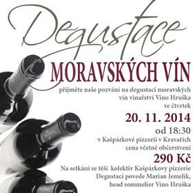 Letáky reference - Leták Degustace vín