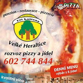 Letáky reference - Leták Kašpárkova pizza