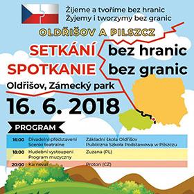 Letáky reference - Plakát Setkání bez hranic