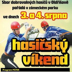 Letáky reference - Plakát Hasičský víkend