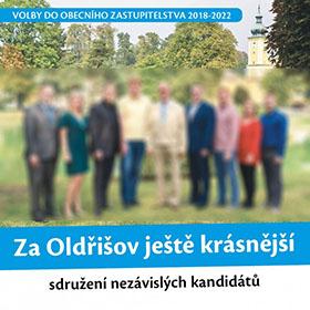 Letáky reference - Volební leták Oldřišov