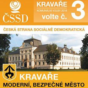 Letáky reference - Volební leták ČSSD Kravaře