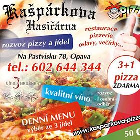 Letáky reference - Kašpárkova Hasičárna leták