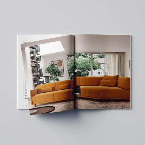 Tisk katalogu, brožury, návodu, výsledný rozměr A4 - 44 stran