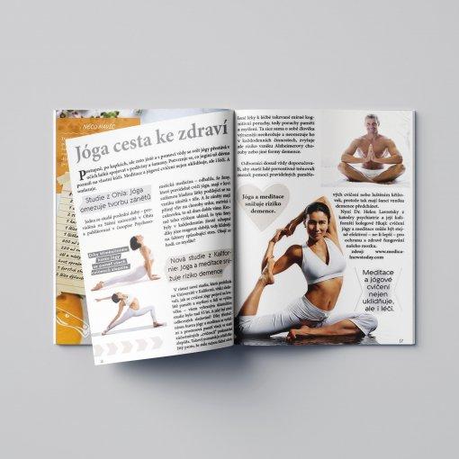 Tisk katalogu, brožury, návodu, výsledný rozměr A4 - 48 stran