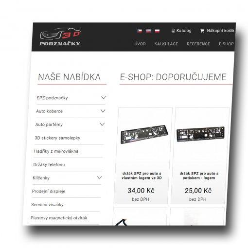 Tvorba webu - podznačky.cz