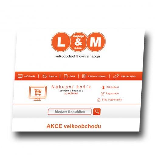 Tvorba webu - LM nápoje