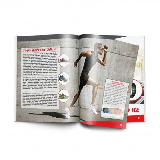 Tisk katalogu, brožury, návodu, výsledný rozměr A4 - 8 stran