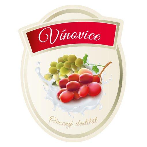 Tisk samolepky vínovice