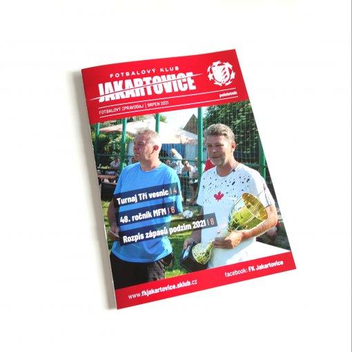 Sportovní zpravodaj - fotbal - A5 - 8 stran