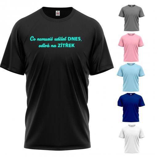 Tričko s vlastním nápisem nebo logem