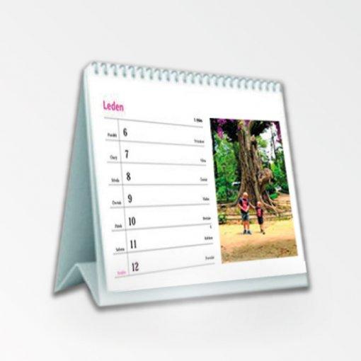 Tisk stolního kalendáře - 7 denní menší