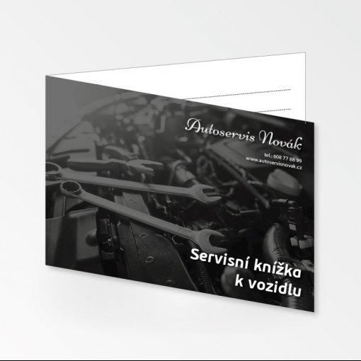 Tisk servisní knížky vozidla / auta