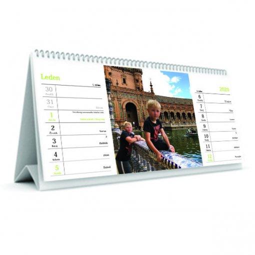 Tisk stolního kalendáře - 14 denní
