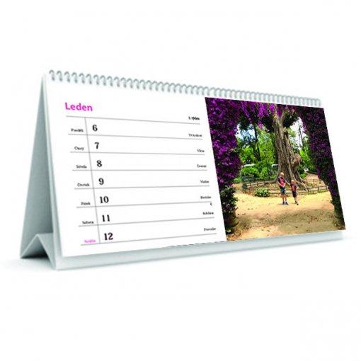 Tisk stolního kalendáře - 7 denní