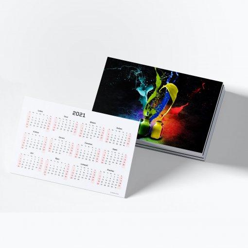 Tisk malého kapesního kalendáře