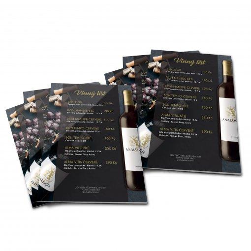 Tisk katalogu, brožury, návodu, výsledný rozměr A5 - 8 stran
