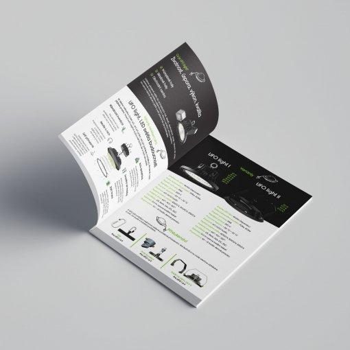 Tisk katalogu, brožury, návodu, výsledný rozměr A6 - 8 stran