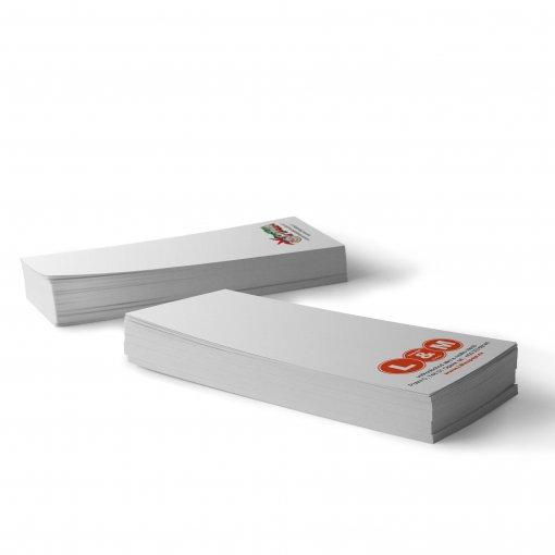 Tisk účtenky, karet s logem