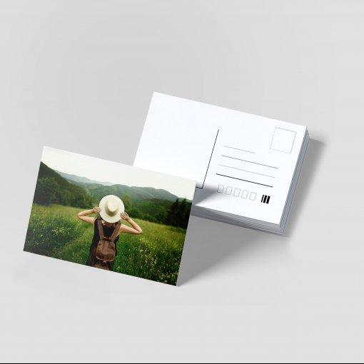Tisk pohlednice