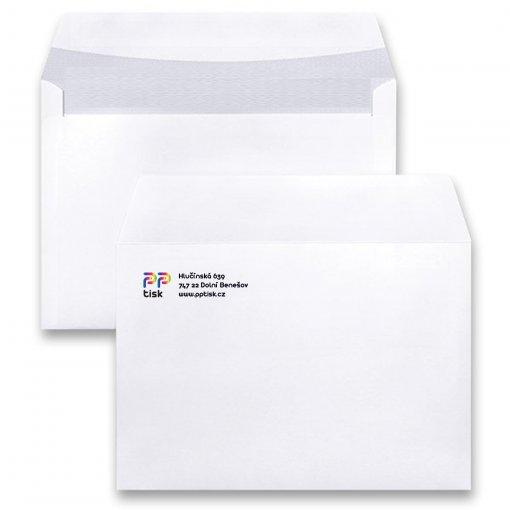 Potisk dopisní obálky C6