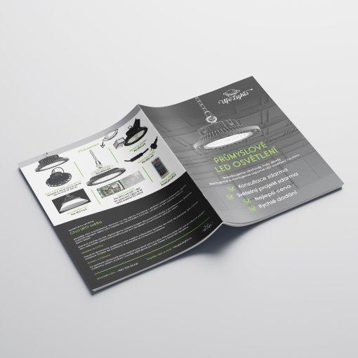 Tisk katalogu, brožury, návodu, výsledný rozměr A6 - 12 stran