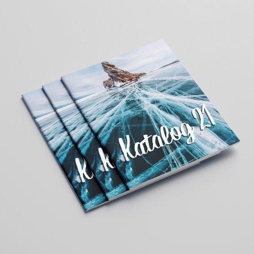 Tisk katalogu, brožury, návodu, výsledný rozměr A5 - 16 stran