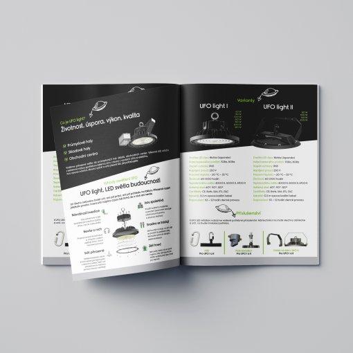 Tisk katalogu, brožury, návodu, výsledný rozměr A5 - 24 stran