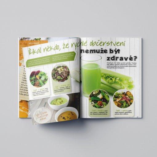 Tisk katalogu, brožury, návodu, výsledný rozměr A6 - 20 stran