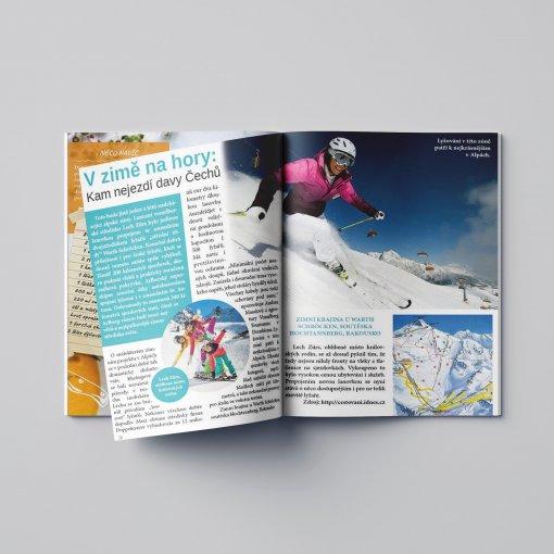 Tisk katalogu, brožury, návodu, výsledný rozměr A4 - 20 stran