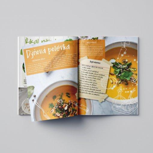 Tisk katalogu, brožury, návodu, výsledný rozměr A6 - 24 stran