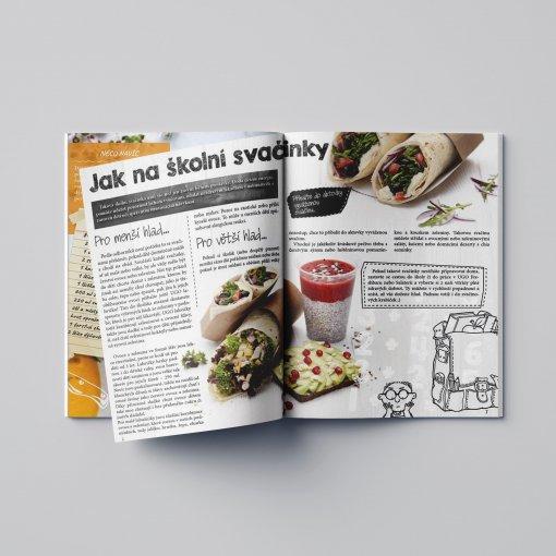 Tisk katalogu, brožury, návodu, výsledný rozměr A6 - 28 stran