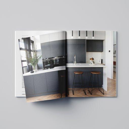 Tisk katalogu, brožury, návodu, výsledný rozměr A4 - 36 stran