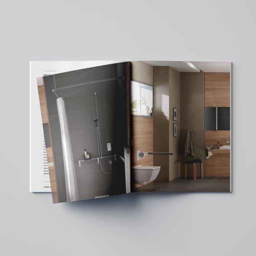 Tisk katalogu, brožury, návodu, výsledný rozměr A4 - 40 stran