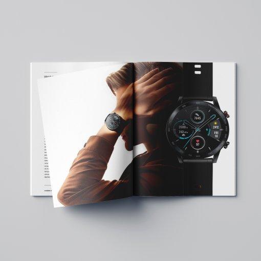 Tisk katalogu, brožury, návodu, výsledný rozměr A5 - 36 stran